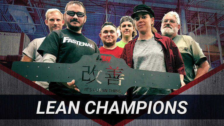 Lean Champions: HUI's Cell 91 is Getting it Done