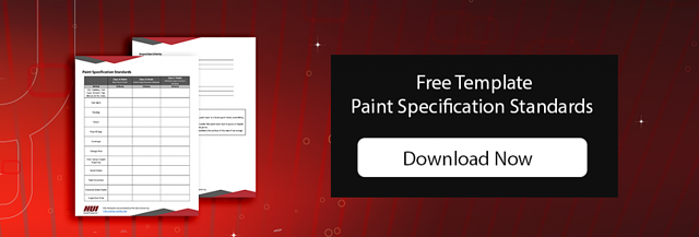 Free Template Powder Coat Paint Specification Standards
