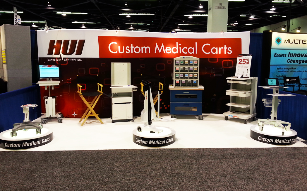 MD&M West - HUI Custom Medical Carts