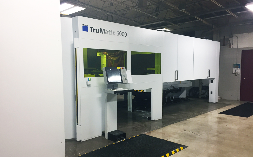 New Trumpf Machine at HUI