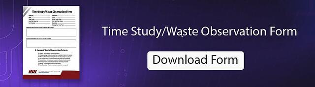 Time Study / Waste Observation Form